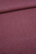 Editex Roze gebreide stof met lurex