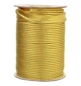 Geen merk Paspelband lurex goud 15 mm
