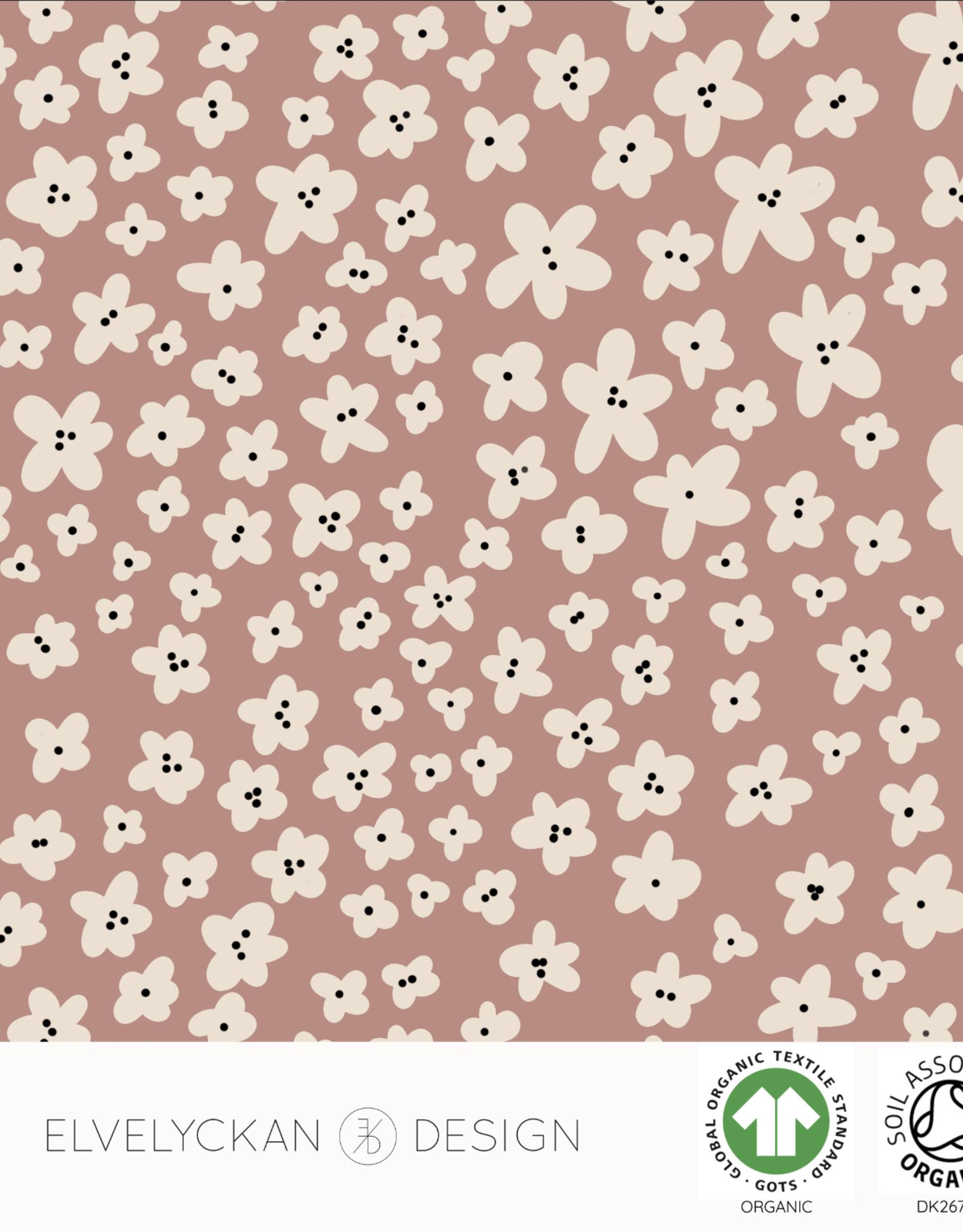Elvelyckan Mini flower - college - blush pink