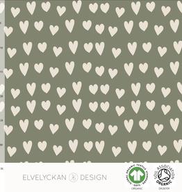 Elvelyckan Hearts - college - green