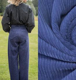 Fibremood Corduroy Estate blue #Betty