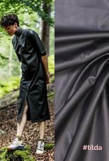 Fibremood Polyester leather zwart  Leverbaar vanaf 24/09