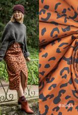 Fibremood Denim leopard print  Leverbaar vanaf 30/09