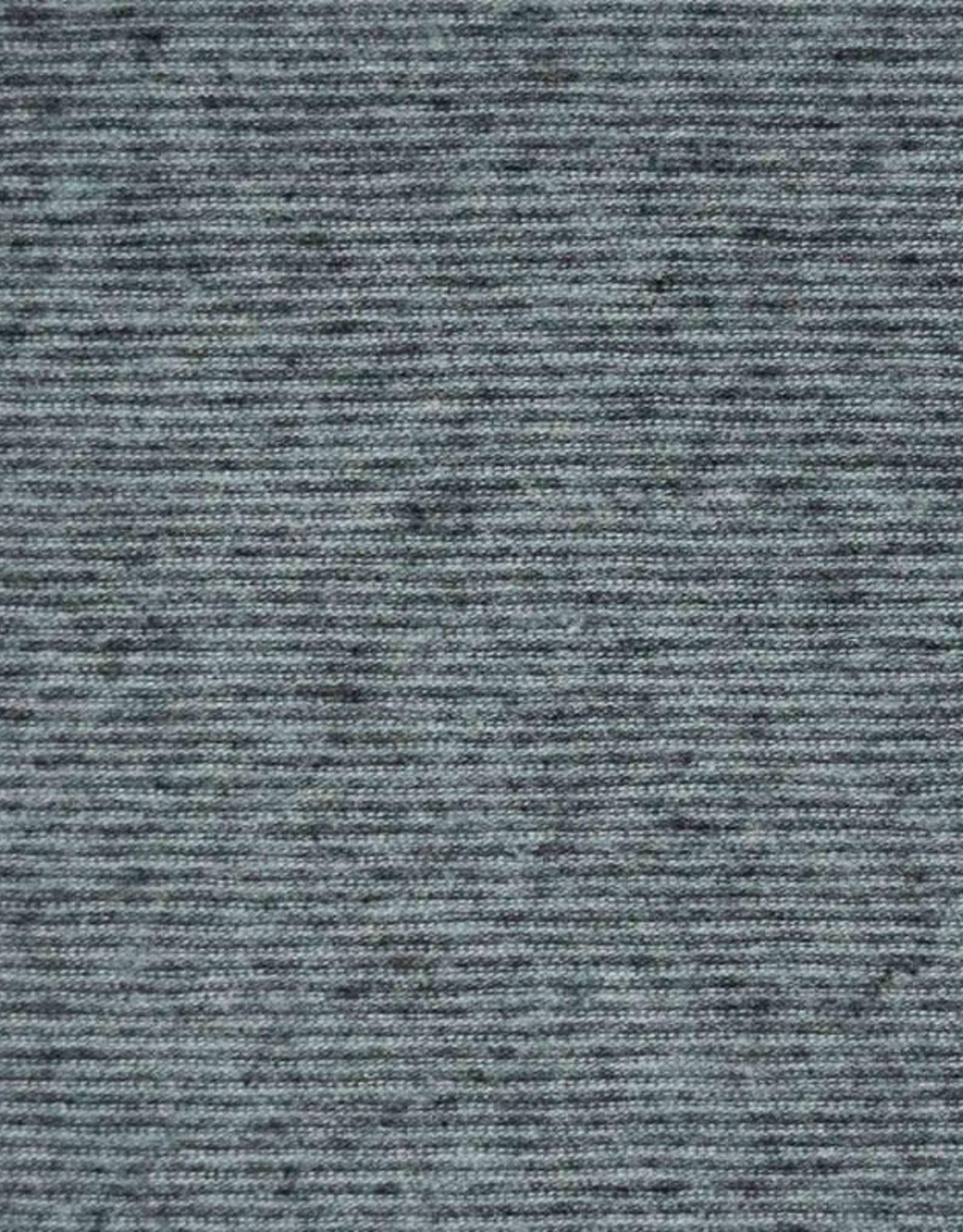 Katia fabrics Multi stripes aqua & antraciet