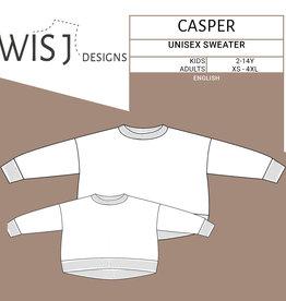 Wisj Casper unisex sweater kids en volwassenen