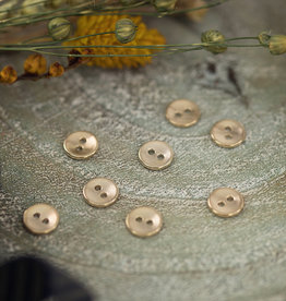 See You At Six Button - 10 - Metal - Smooth - Soft Gold
