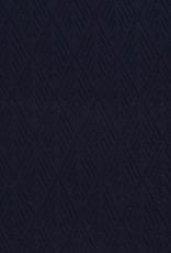 Geen merk Jersey met structuur navy blauw