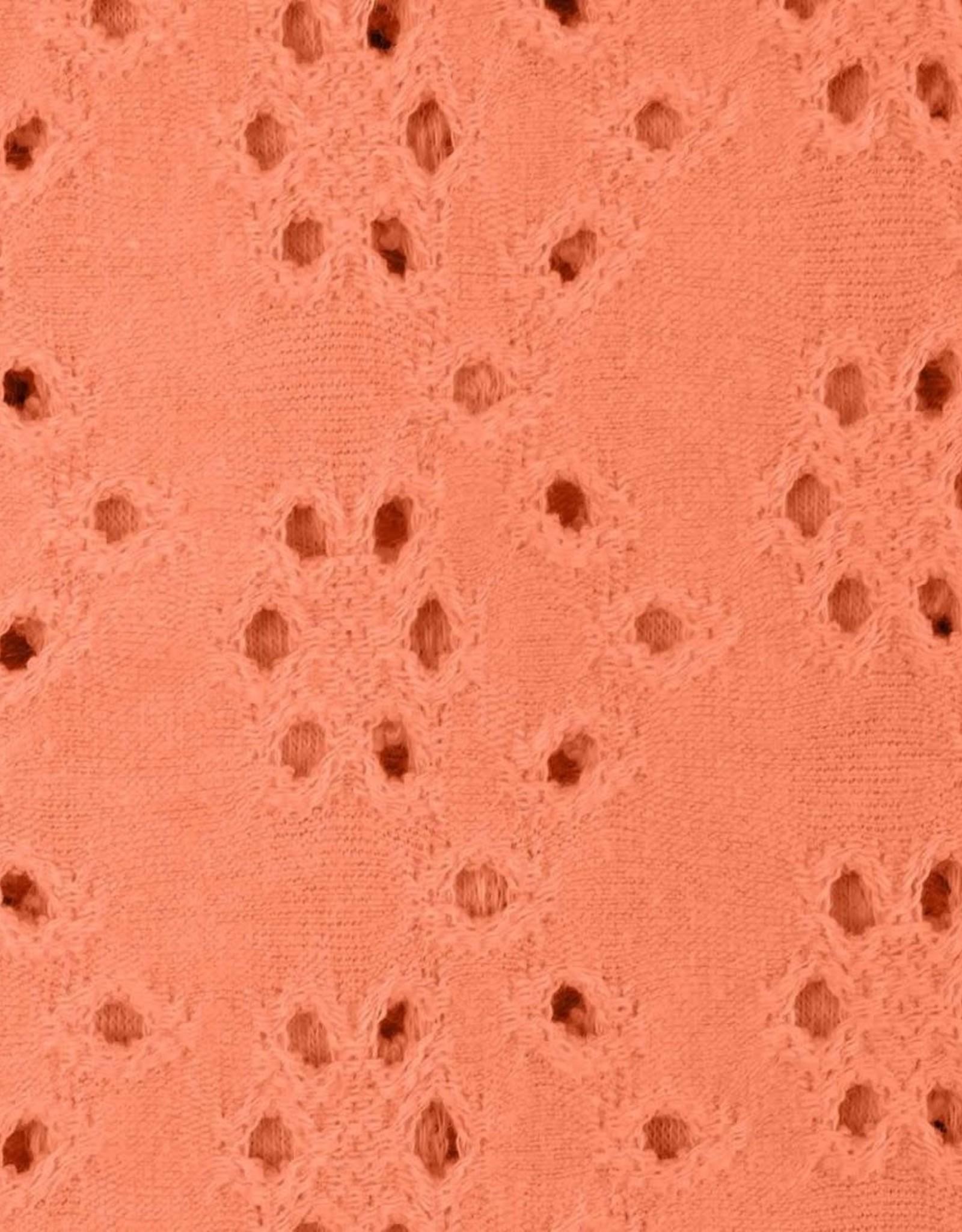 Geen merk Brodery jersey coral