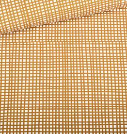 Eva Mouton Vichy french terry geel ecru