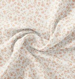 Family fabrics Tiny Floral Dusty Pink Jersey