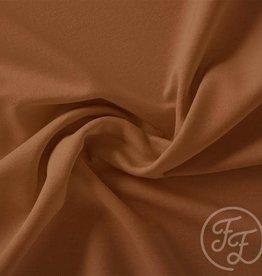 Family fabrics Caramel Cafe Uni Jersey