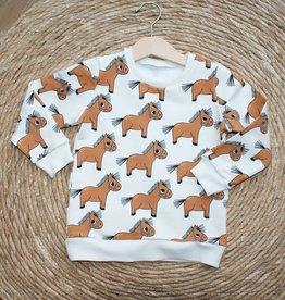 Stik-Stof Sweater pony
