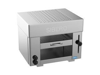 Sibero Horeca Pita Oven - Sibero - 2 Gas Branders - 650x430x600(h)mm - Aardgas