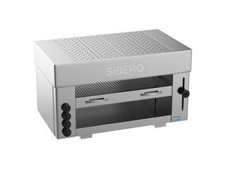 Sibero Horeca Pita Oven - Sibero - 4 Gas Brander - 960x430x600(h)mm - Aardgas