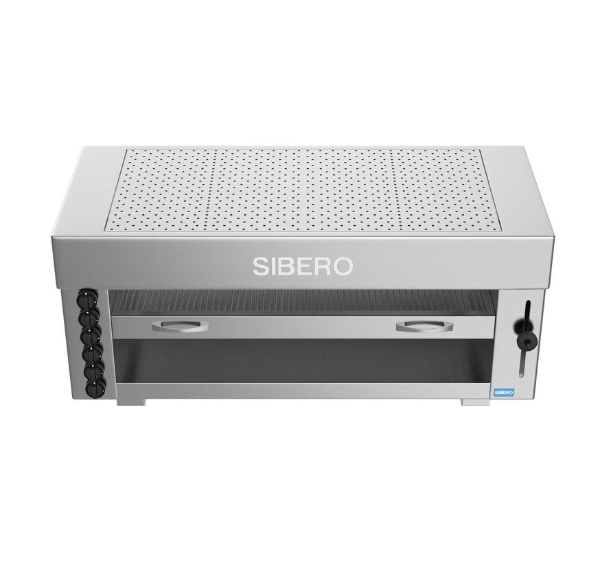 Horeca Pita Oven - Sibero - 6 Gas Brander - 1290x430x600(h)mm - Aardgas