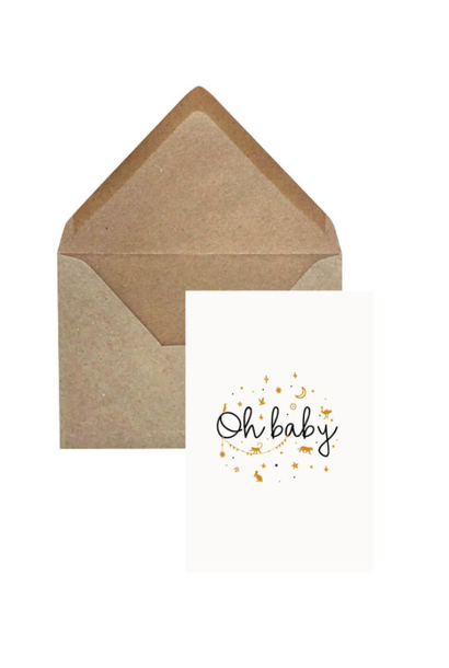 Greeting Card 'Oh Baby'
