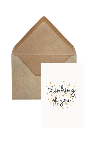 Greeting Card 'Thinking of you'