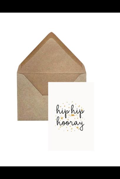 Greeting Card 'Hip hip hooray'