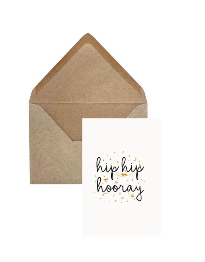 Wenskaart Hip hip hooray-1