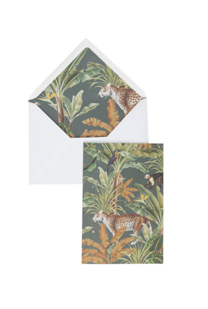 Greeting Card 'Mighty jungle'