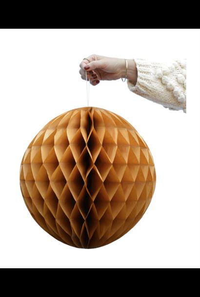 Ochre Honeycomb Balls