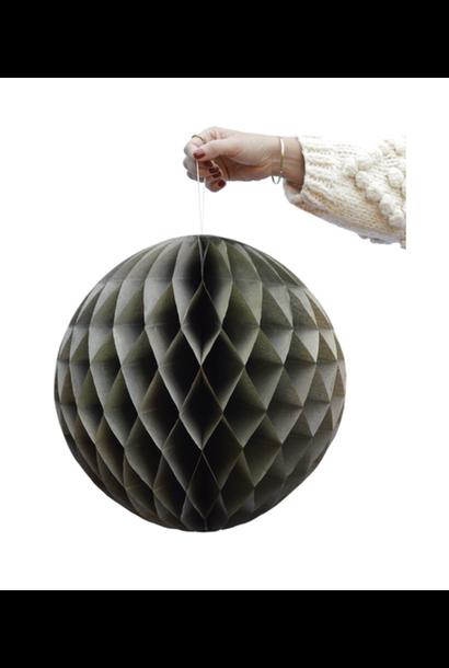 Olive Green Honeycomb Balls