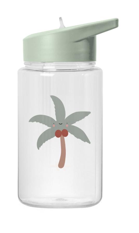 Tropische Waterfles Kokospalm-1