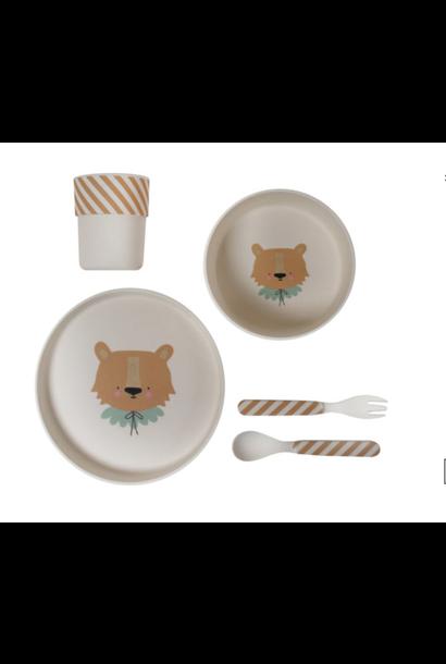 Bamboo Eco Dinner Set Lion
