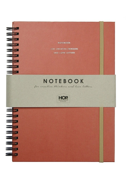 Notebook Big - Brick Red