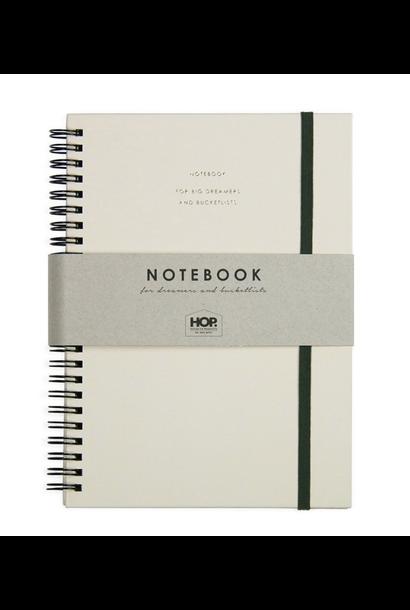 Notitieboek Groot- Honey Nude
