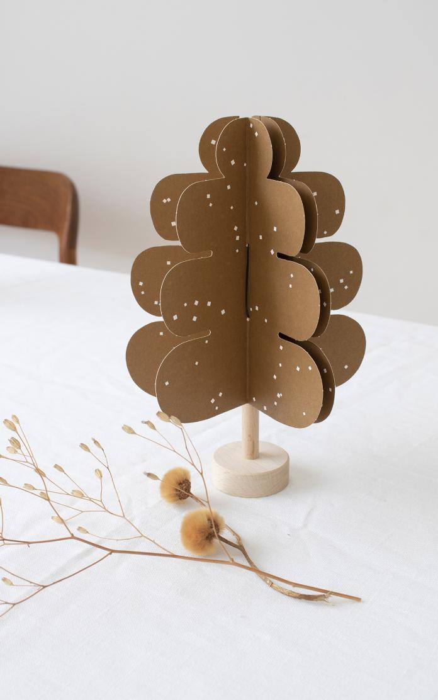 Eiken DIY Decoratie Boompje-1