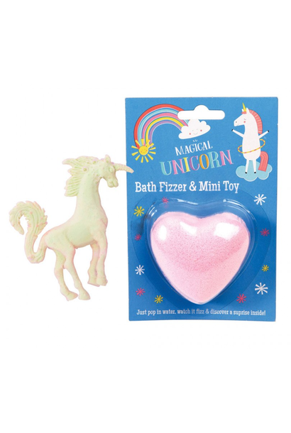 Magical Unicorn Bath Fizzer + Mini Toy