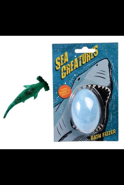 Sea Creatures Bath Fizzer + Mini Toy