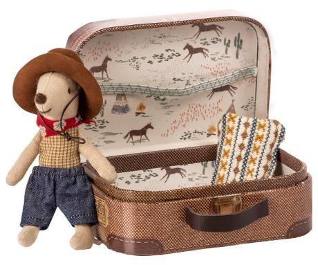 Cowboy Muis in Koffertje-1