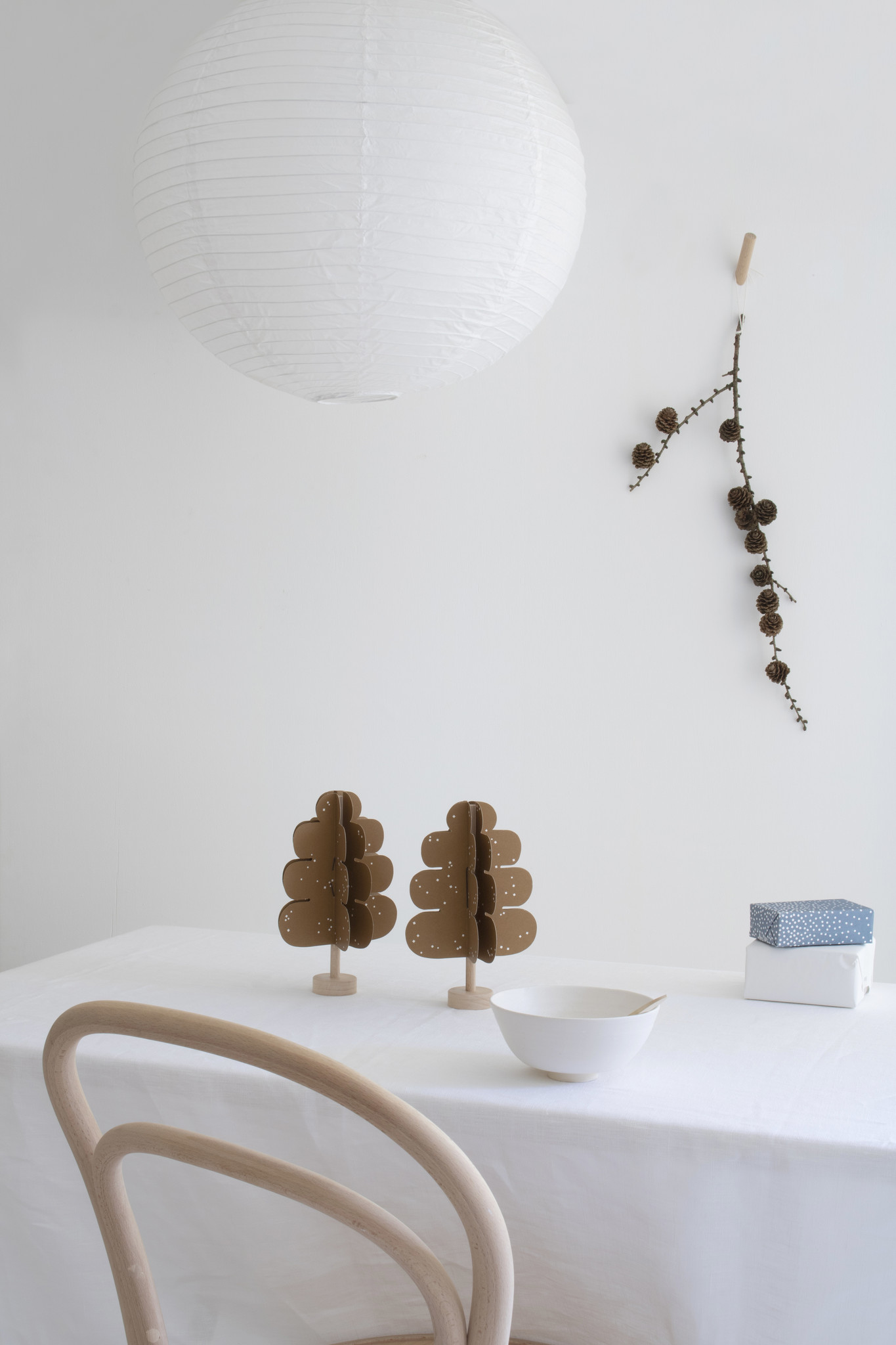 Eiken DIY Decoratie Boompje-2