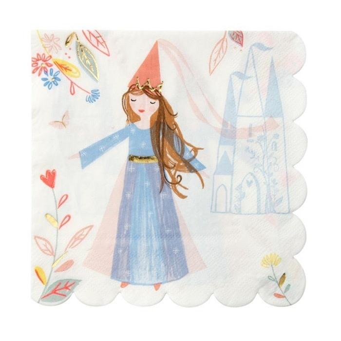 Servetten Magische Prinses-1