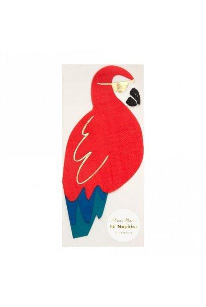 Pirate Parrot Napkins