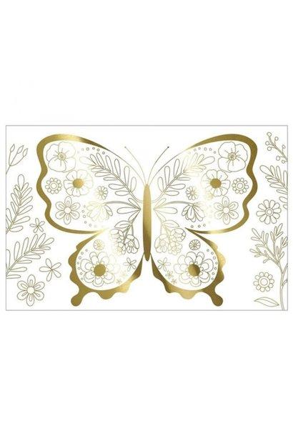 Kleurposters Vlinder