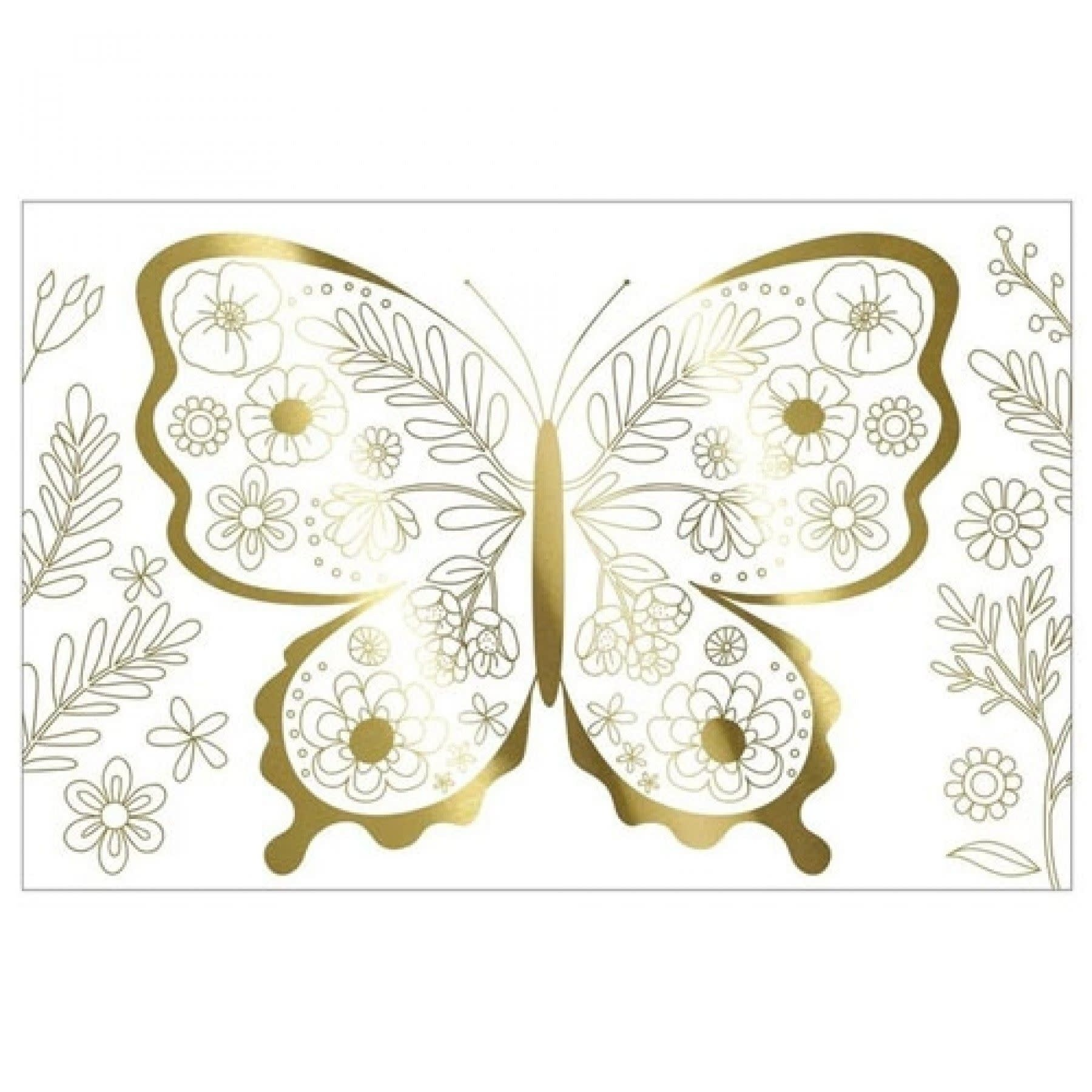 Kleurposters Vlinder-1