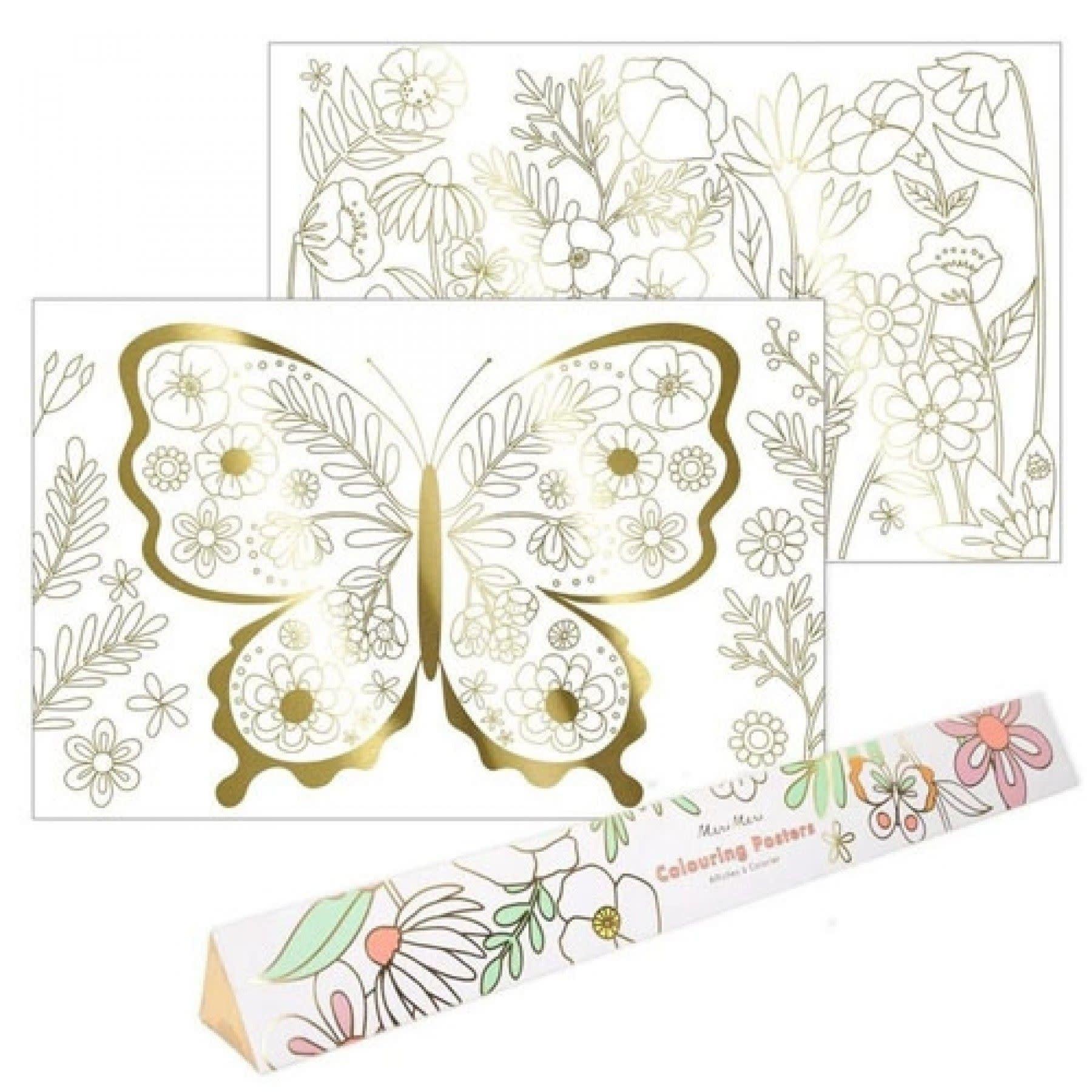 Kleurposters Vlinder-3