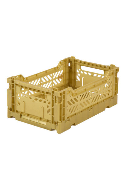 Folding Crate Gold - Small