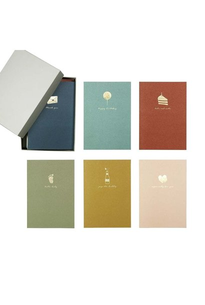 12 Greeting Cards With Envelopes