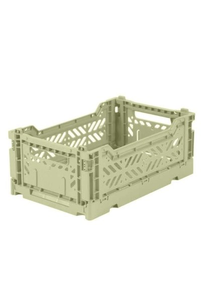Folding Crate Lime Cream - Small