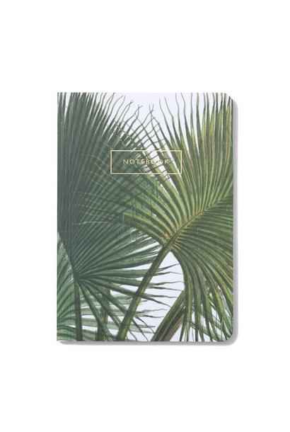 Notebook Botanical Palm Leaves