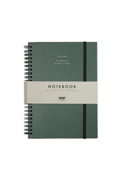 Notitieboek Groot - Groen