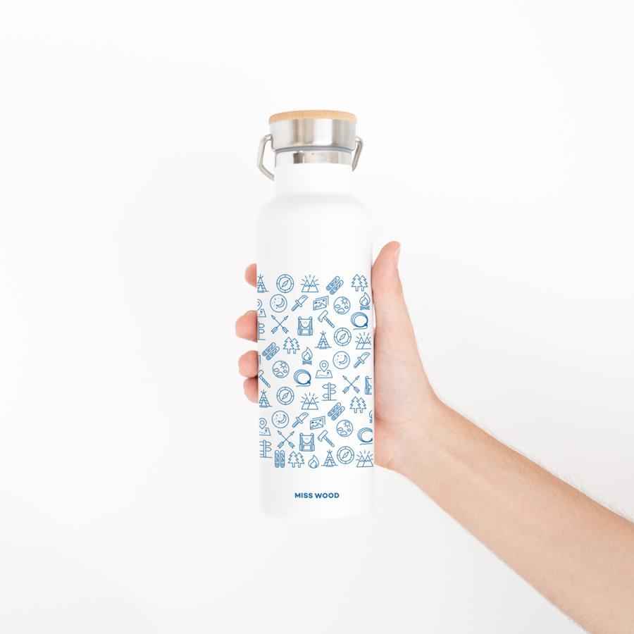 Drinkfles roestvrij staal-1