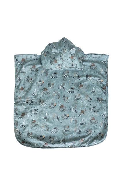 Badcape - Hemelblauw