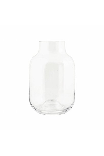 Vase Shaped Clear