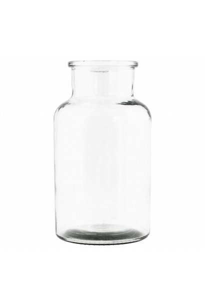 Vaas Jar Transparant - Large