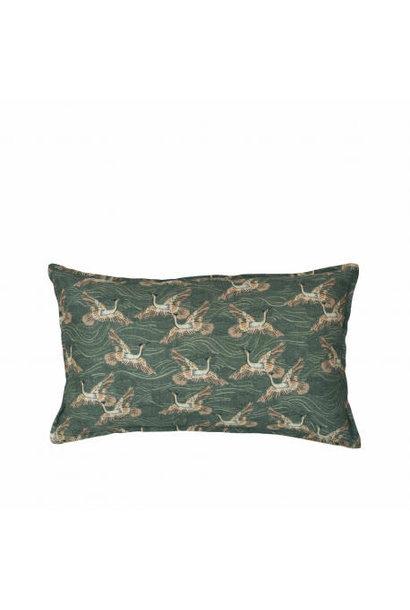 Cushion Taormina Olive Green